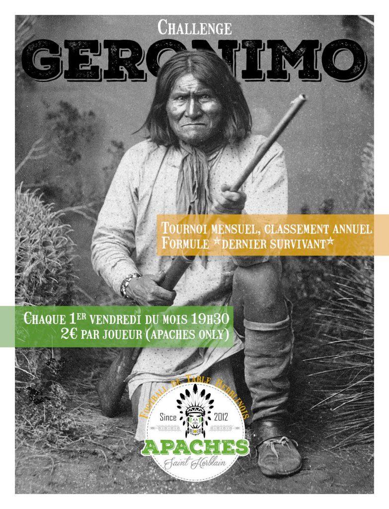 Challenge Geronimo